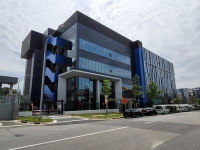 Digital Realty's new Digital Loyang II / SIN12 Data Center in Singapore.