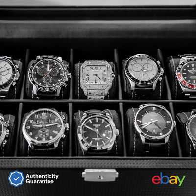 For watch collectors like Trae Young, eBay's Authenticity Guarantee service provides an extra layer of trust and confidence for shoppers browsing the unparalleled selection of new, pre-owned and vintage watches marked with the Authenticity Guarantee badge at eBay.com/luxurywatches.