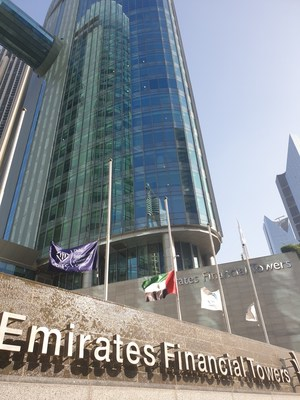Located at the heart of Dubai's Financial District at the Dubai International Financial Centre (DIFC).