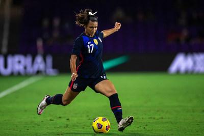 USWNT Forward Sophia Smith for Hyperice x U.S. Soccer Launch