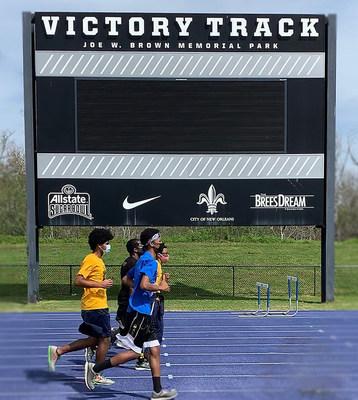 Victory Track, Joe W. Brown Memorial Park