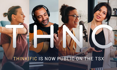 Thinkific is now public on the TSX