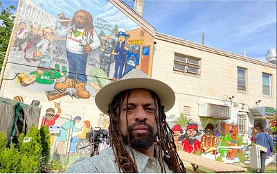 """Legendary marijuana activist and ganjapreneur Ed """"NJWeedman"""" Forchion is continuing his legacy of promoting 'puff and paint' cannabis creativity with the opening of his new art and music marijuana lounge, The Joint of Miami in Miami's Wynwood Art District."""