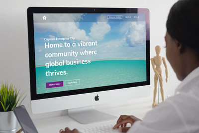 Cayman Enterprise City Website Receives Global Recognition for New Design (PRNewsfoto/Cayman Enterprise City)