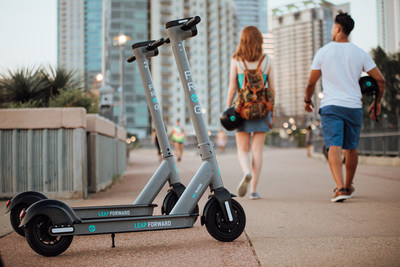 Frog Mobility electric stand-up scooter