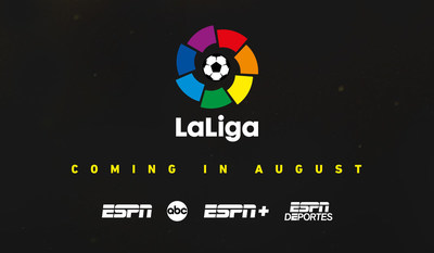 LaLiga is coming to ESPN in August