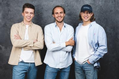 Halo.rent co-founders Pijus Bratcikov, Benas Baltramiejunas and Kipras Gajauskas