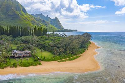 Contemporary Kauai Estate, represented by Hawaii Life Real Estate Brokers, a member of Luxury Portfolio International, luxuryportfolio.com, MLS 640219 (PRNewsfoto/Luxury Portfolio International (LPI))