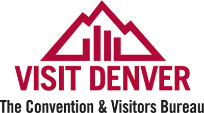 VISIT DENVER, The Convention & Visitors Bureau Logo