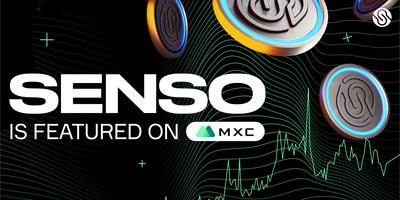 Sensorium Galaxy Tokens (senso) now Available on MXC Exchange