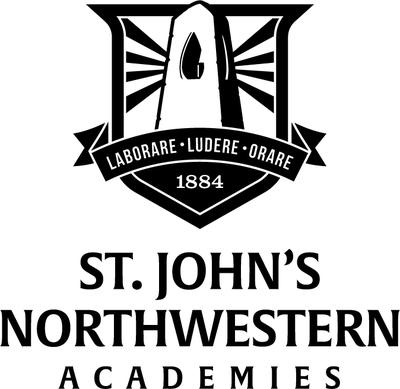 St. John's Northwestern Military Academy Logo (PRNewsfoto/St. John's Northwestern Militar)