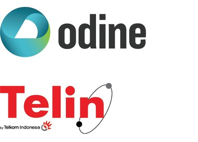 Odine Solutions and Telin Logo (PRNewsfoto/Odine Solutions)