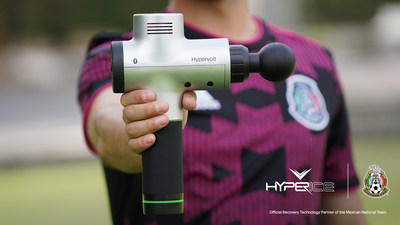 Mexican Football Federation Names Hyperice Official Recovery Technology Partner