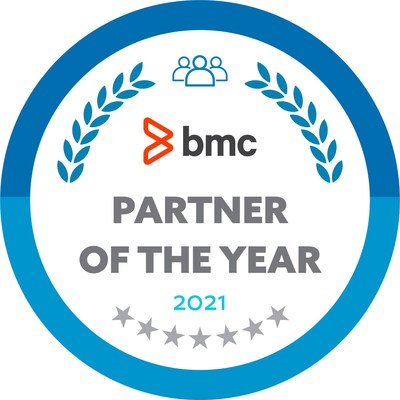 BMC Partner of the Year Badge
