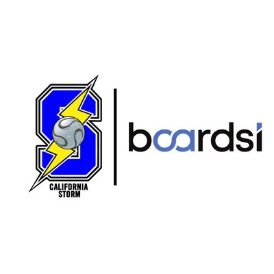 Boardsi announces partnership with the California Storm.