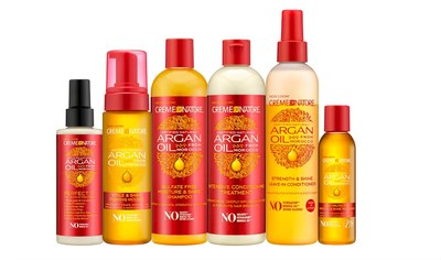 Creme of Nature's New Look for Argan Oil from Morocco Collection