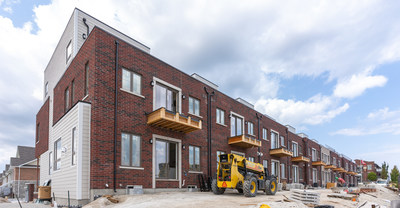 Residential development in Collingwood, ON. Photo credit: Crozier (CNW Group/C.F. Crozier & Associates Inc.)