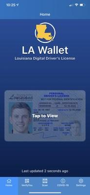 LA Wallet Digital Driver's License App