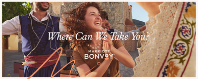 """Marriott Bonvoy's """"Power of Travel"""" campaign proudly proclaims its belief in the transformative power of travel"""