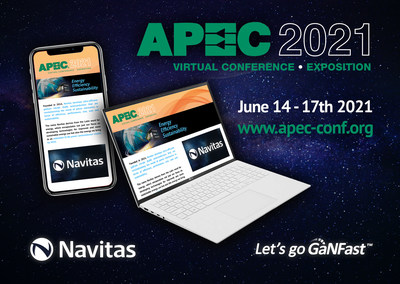 Discover Navitas Gallium Nitride (GaN) Power ICs at APEC 2021!