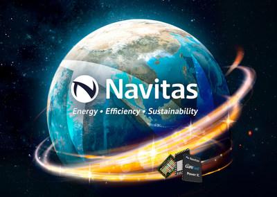 Navitas Semiconductor - Energy - Efficiency - Sustainability - with Gallium Nitride (GaN) Power ICs.