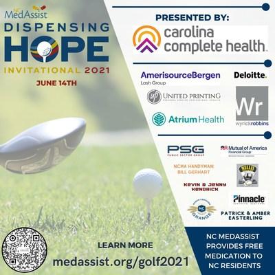 NC MedAssist golf tournament raises funds to provide lifesaving medication to under-resourced North Carolinians.