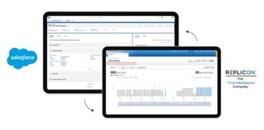 Replicon time tracking for Salesforce customers