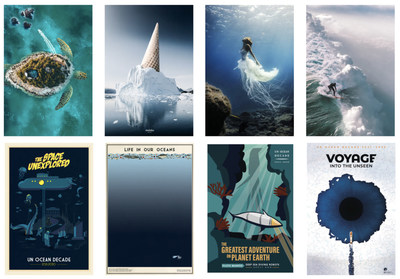 Imagery from the Ocean Decade Exhibition