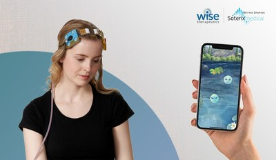 Wise's gamified ABMT can easily pair with a tDCS headset in the home setting for enhanced results.