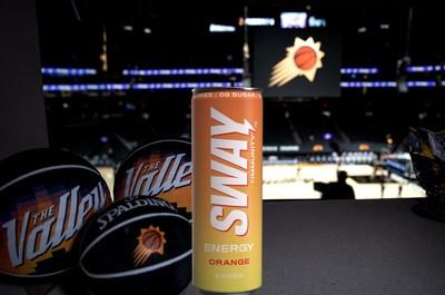 Elegance Brands' SWAY Energy Drink Named Proud Partner of NBA's Phoenix Suns and WNBA's Phoenix Mercury Teams