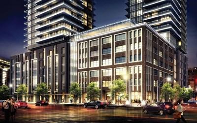King Blue Hotel Rendering (CNW Group/Northland Properties)