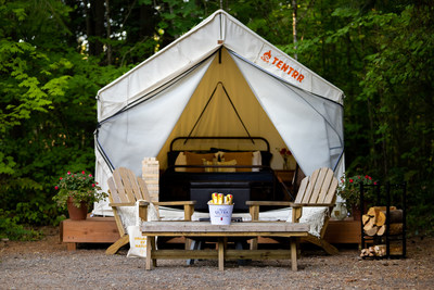Tentrr & Michelob ULTRA Pure Gold Bring Campers the Pure Golden Hour Tentrr Experience