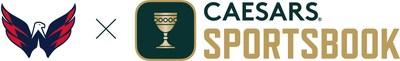 Washington Capitals x Caesars Sportsbook First NHL Jersey Agreement