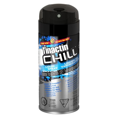Tinactin Chill Liquid Spray (CNW Group/Health Canada)