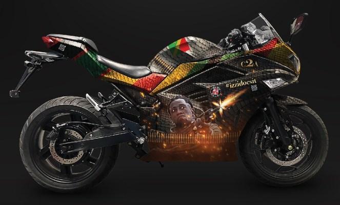 Wesley Snipes Custom electric bike from BOOM! Moto.