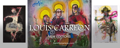 Louis Carreon: New Editions