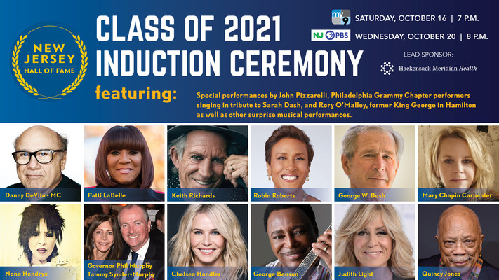 NJ Hall of Fame Induction Ceremony 2021