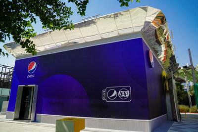 The Plus (Pepsi ® and Lay's®) pavilion at Expo 2020 Dubai