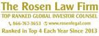 ROSEN, TOP RANKED INVESTOR COUNSEL, Encourages Longeveron Inc. Investors to Secure Counsel Before Important November 12 Deadline in Securities Class Action – LGVN